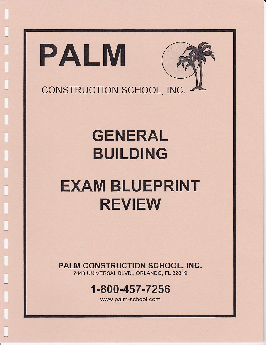 Blueprint review for the building contractors exams includes blueprint review for the general building contractors exams includes plans questions and malvernweather Choice Image