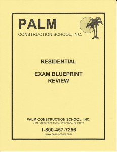 Blueprint Review for  the Residential Exam