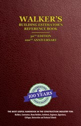 Building Estimators Reference Book – 30th Edition