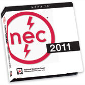 NFPA 70 National Electrical Code (Binder) - 2011