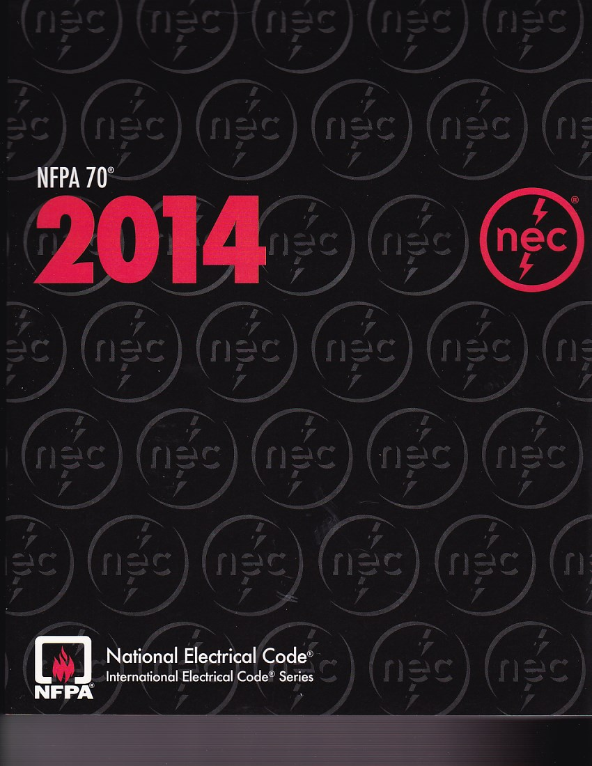 Nfpa 70 National Electrical Code Paperback 2014 Palm