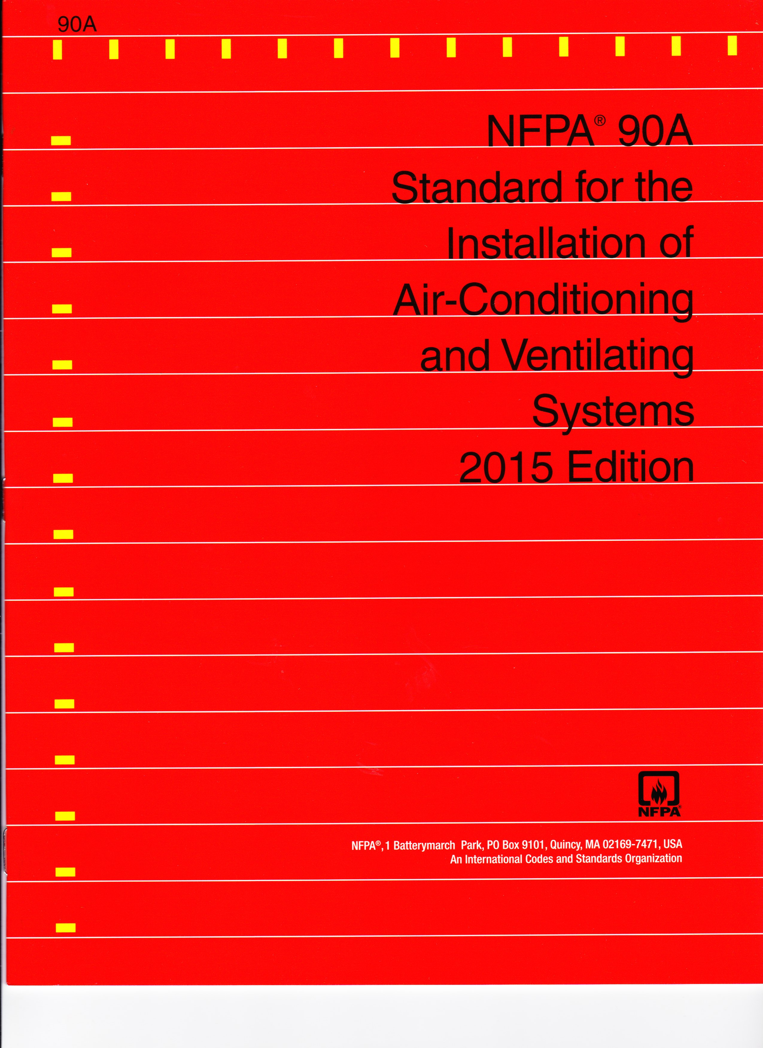 the Installation of Air Conditioning and Ventilating Systems – 2015 #CAB701