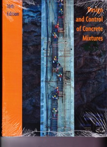 Design and Control of Concrete Mixtures – 2016