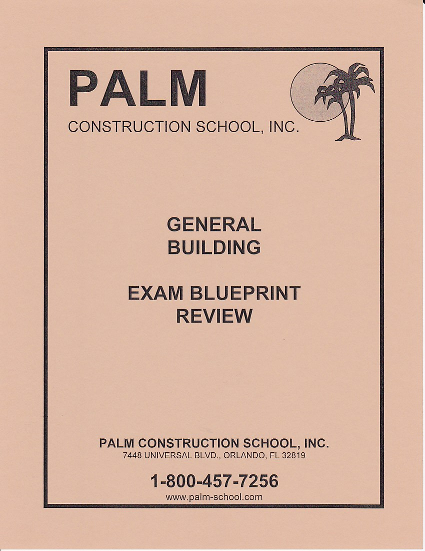 Blueprint review for the general contractors exams includes plans blueprint malvernweather Choice Image