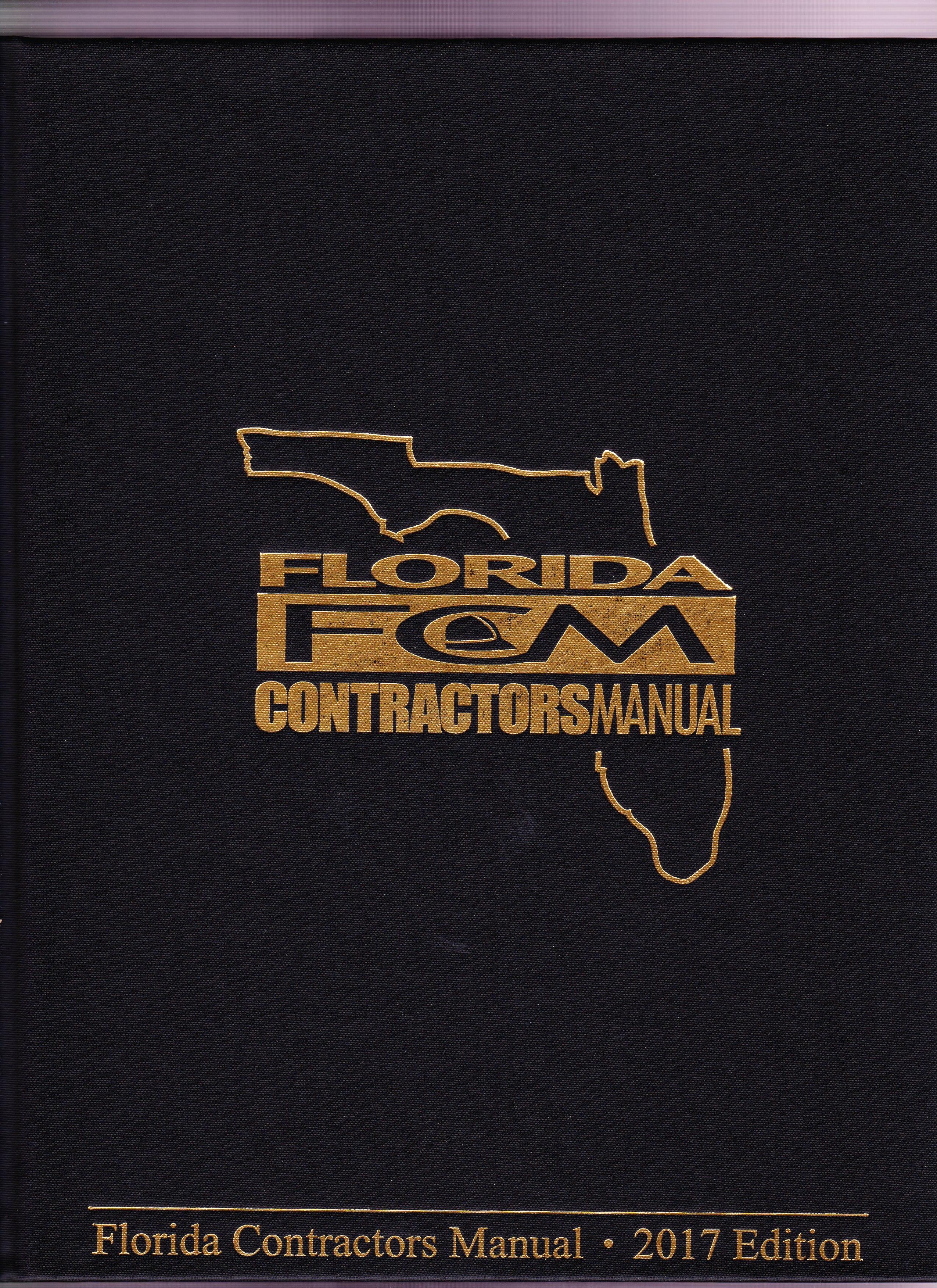 florida contractor s manual 2017 palm construction school rh palm school com florida contractors manual pdf florida contractors manual pdf