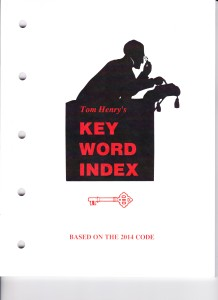 Key Word Index, '14 001