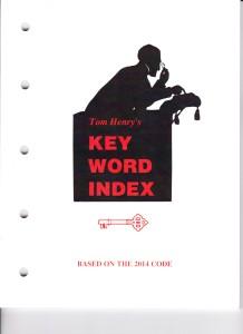 Key Word Index, '14 001