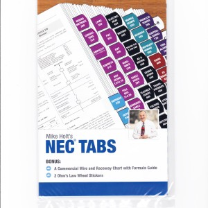 Mike Holt's NEC Tabs 001