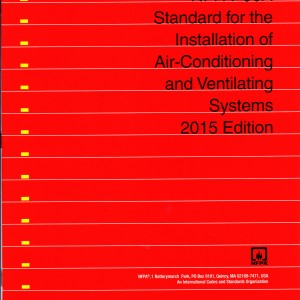 NFPA 90A Standard for the Installation of Air-Conditioning and Ventilating Systems - 2015