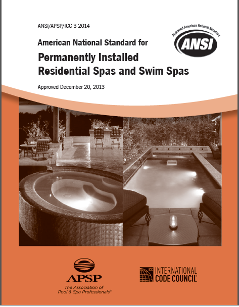 Standard for Permanently Installed Residential Spas – 2014